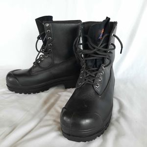 Men's Dickies steel toed work boots
